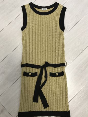 Mochino Москино оригинал платье, сарафан (не зара, Массимо дути, H&M)