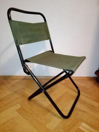 Krzesełko wędkarskie+przynęta na drapiezniki