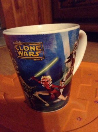 Gwiezdne wojny kubek. Clone wars.