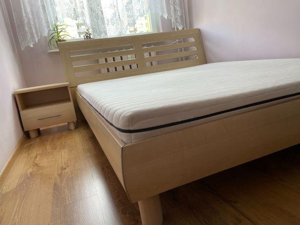 Łóżko 160 z materacem BRW do sypialni