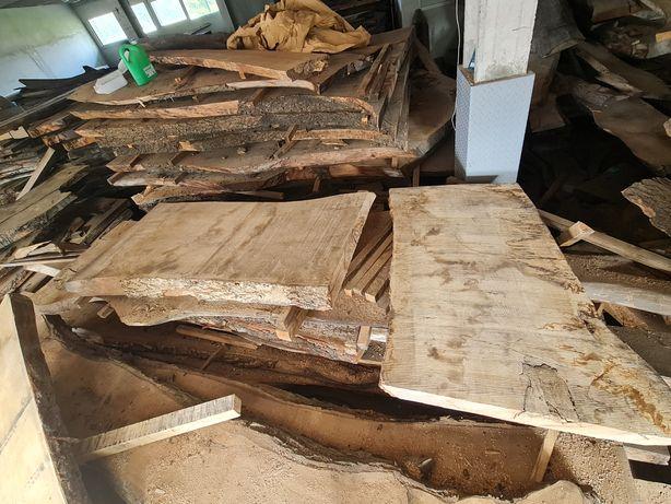 Stół monolit dąb jesion blat drewniany deska drzewo foszty