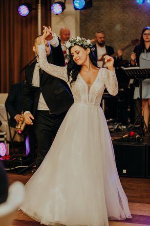 Sprzedam suknie ślubną boho