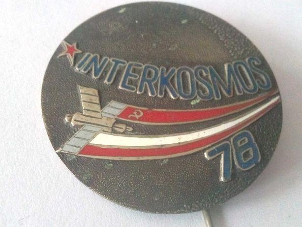 Odznaka Interkosmos 78.