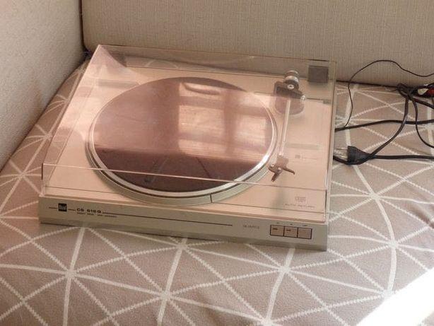 gramofon DUAL CS 616Q bezpośredni napęd