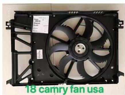 2018 camry -Дифузор ,Радиатор