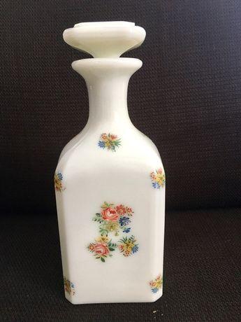 Парфюмерная бутылка, опаловое стекло, Франция кон. XIX ст