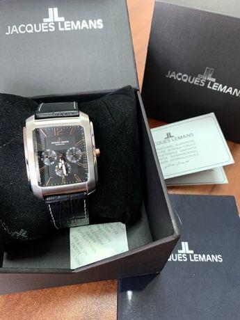 Мужские часы JACQUES LEMANS 1-1463V (Новые, Гарантия 2 года)