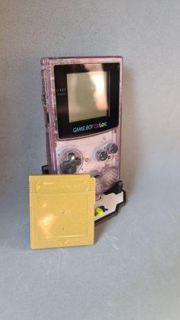 Game Boy Colour Lilás + Jogo Pokémon Gold sem label