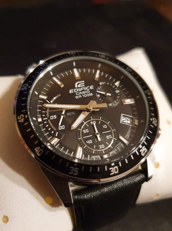 SUPER zegarek męski CASIO EDIFICE EFV-540 chronograf OKAZJA