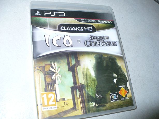 Na Ps3,,Ico&Shadow of the Colossus''Clasic HD