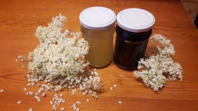 Syrop z kwiatów/owoców czarnego bzu