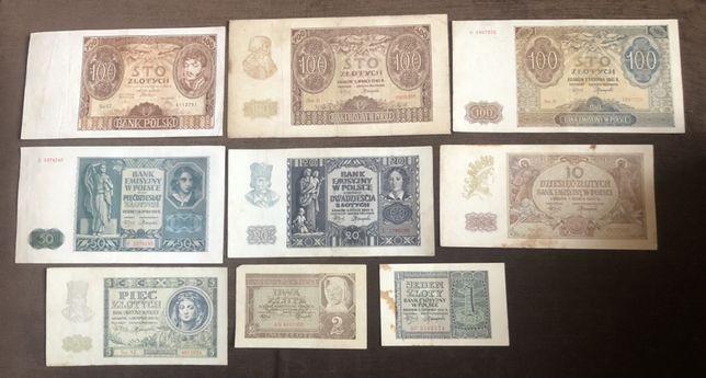 Polska zestaw banknotów