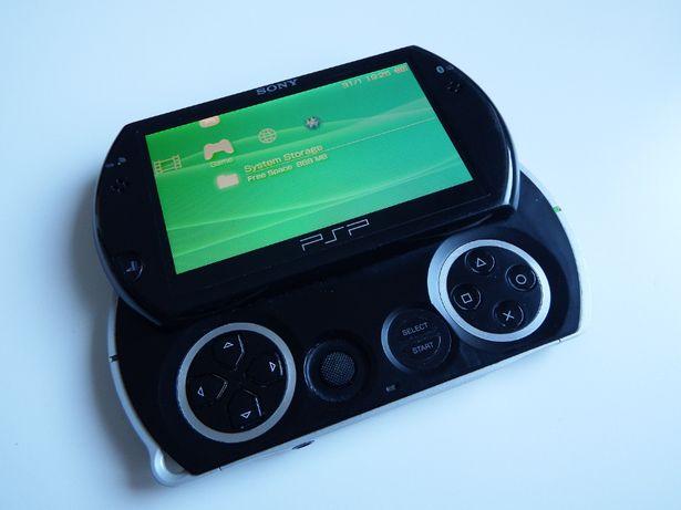 SONY PSP GO unikat Crash Minecraft Tekken GTA SNES NES mega dużo gier