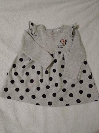 Детское платье рост 68-74 см