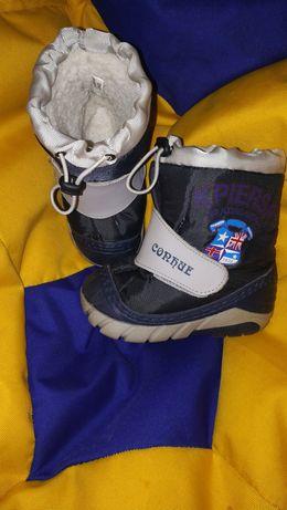 Зима и деми ботинки