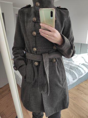 Rozmiar S płaszcz dwurzędowy płaszczyk