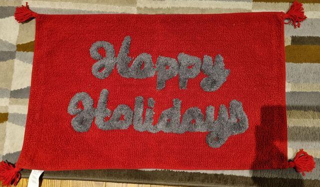 Dywanik łazienkowy happy holiday