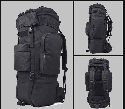 094 Plecak wojskowy TAKTYCZNY Pojemność 100 L CZARNY / OLIWKA NOWY !