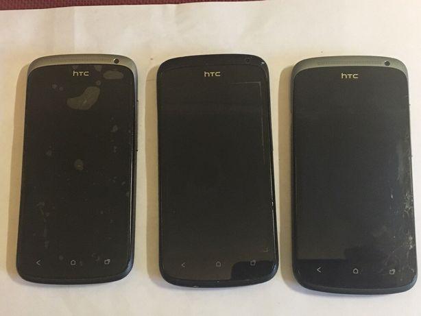 Телефоны HTC One S SZ520e 3 штуки доноры!