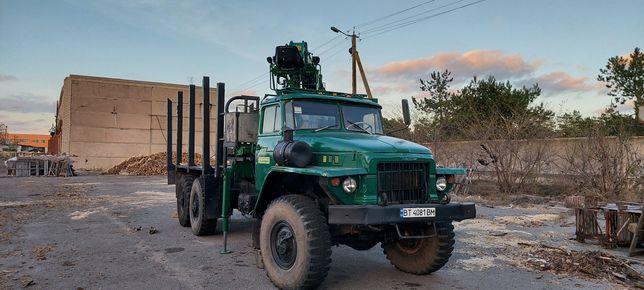 Урал 375 манипулятор лесной
