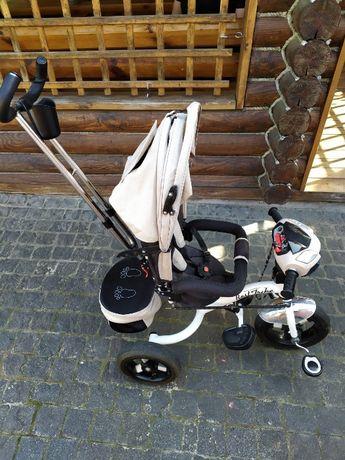 Детский велосипед трехколесный BEST TRIKE 6595 лен
