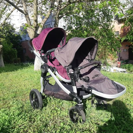 Прогулочная коляска для двойни или погодок. Baby Jogger City Select.