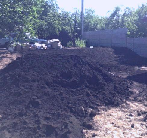 Перегной чернозем коровий навоз плодородная земля сыпец