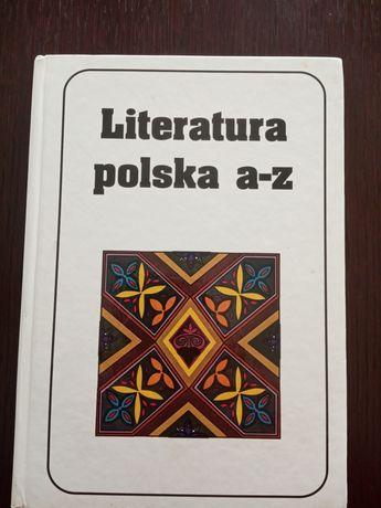 Krzyżówki: Literatura polska a-z