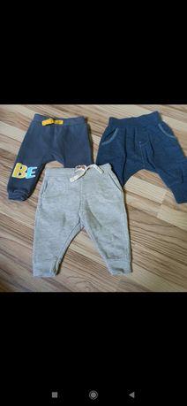 Zestaw spodni dresowych r. 68