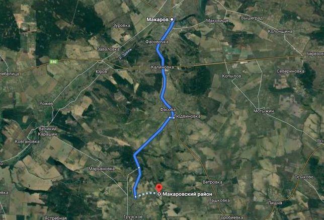 Продается большой участок под жилую застройку в Грузском, Киевская обл