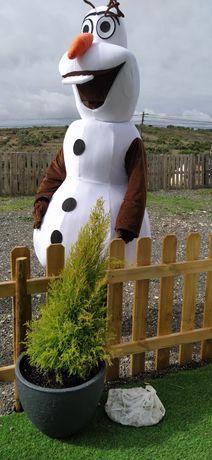 Fato Olaf mascote