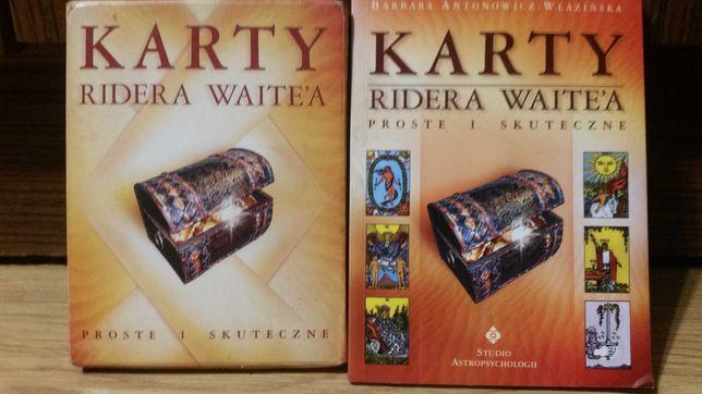 Karty Ridera Waitea, KSIĄŻKA + KARTY. Barbara Antonowicz-Włazińska