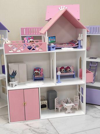Игрушка для девочки,кукольный домик,Домик для Барби и Лол