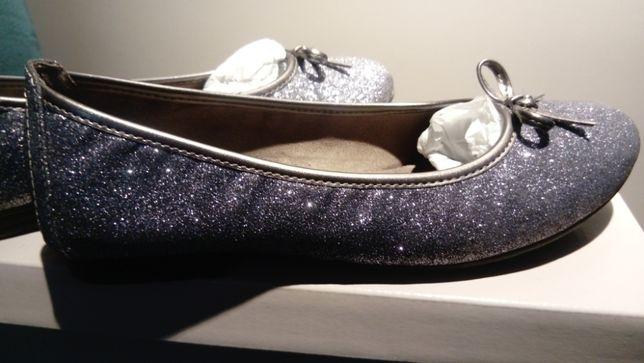 Buty marki Sof Line płaskie baleriny rozmiar 39