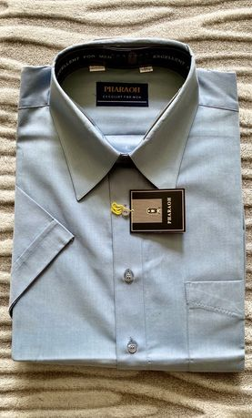 Рубашка новая мужская Pharaoh, полный комплект