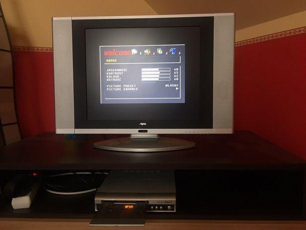Zestaw: Manta LCD TV / Monitor 1906 + odtwarzacz DVD