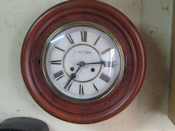 Zegar,Ciekawy 100 letni Junghans - okrągły