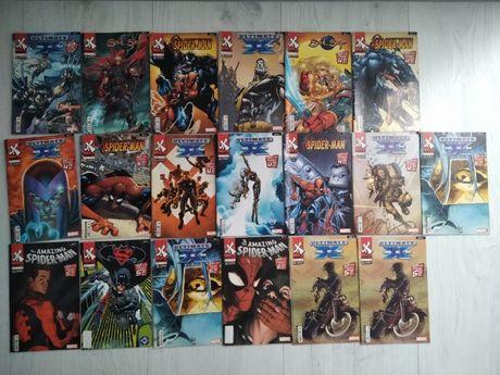 Dobry komiks 14 numerów w stanie bardzo dobrym Spider-man X-men