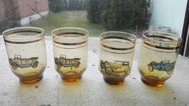 Szklanki prl szklanki ozdobne