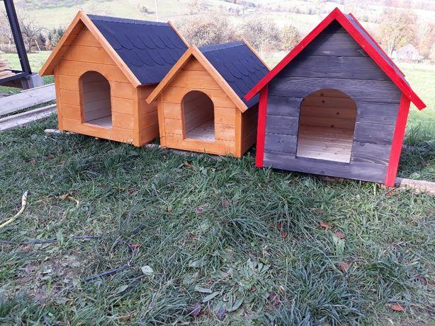 Drewniane ocieplane budy dla psa