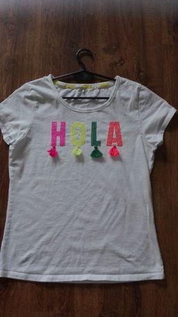 T-shirt z frędzlami rozm. S
