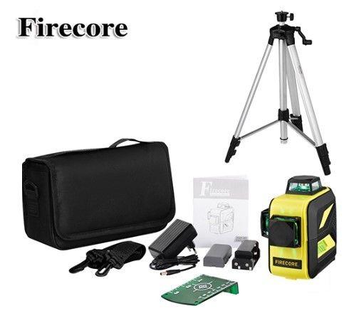 60 метров 3D Firecore F93T-XG+ШТАТИВ Лазерный уровень/лазерный нивелир