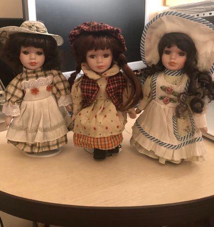 Куклы фарфоровые в коллекцию. Продам