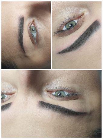 Modelka - makijaż permanentny