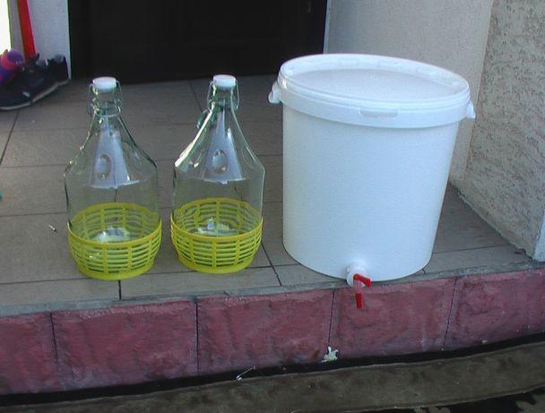 Beczka plastikowa pojemnik balon fermentator na piwo wino sok woda