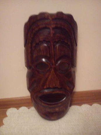 Afrykańska drewniana maska duża