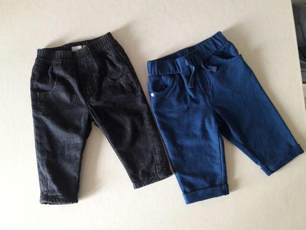 Штаны тёплые  спортивные,  джинсы 6 мес 68 см