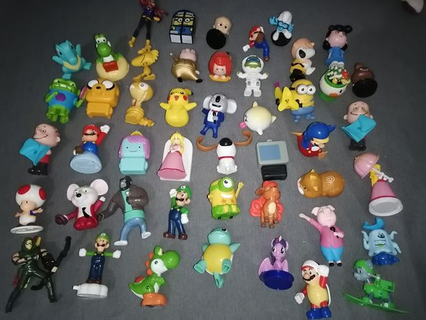 Zestaw figurek zabawek postaci z bajek