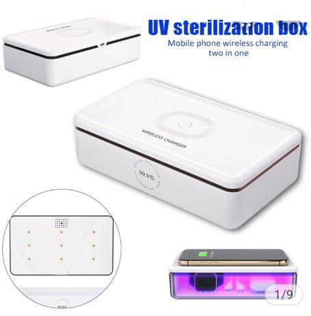 Wireless charging sterilizing box (ładowarka bezprzewodowa)