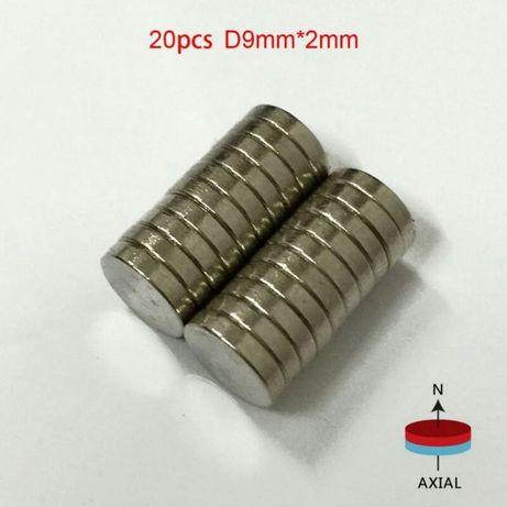 Мощные магниты 3 шт. за 60 грн.